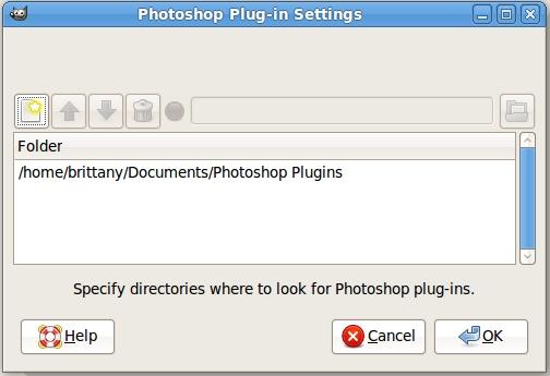 PSPI плагин для GIMP